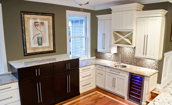 Cream Kitchen Cabinets 15 dainty cream kitchen cabinets | home design lover