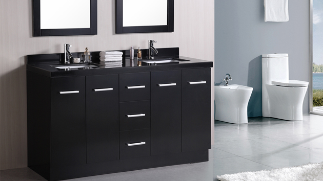 black bathroom sink vanity 15 black bathroom vanity sets home design lover 17380