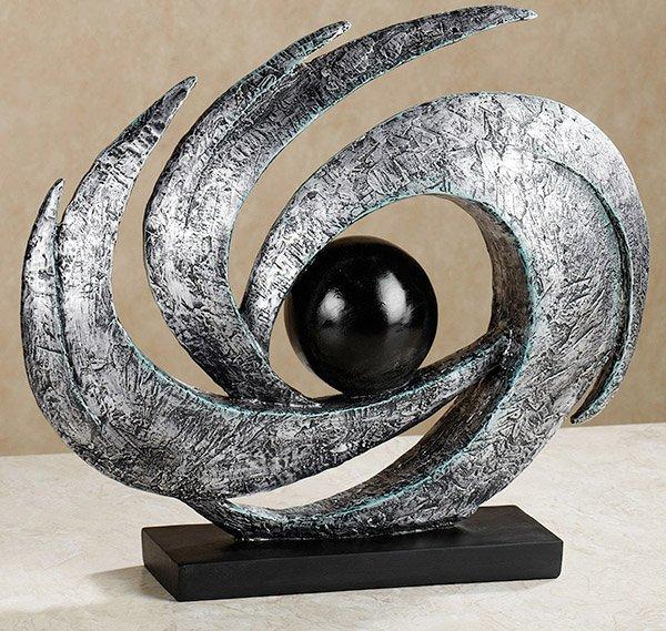 Mesa abstracta escultura