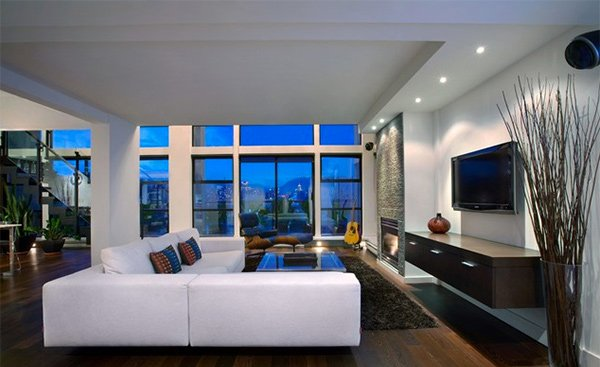 15 Splendid Modern Family Room Designs Home Design Lover