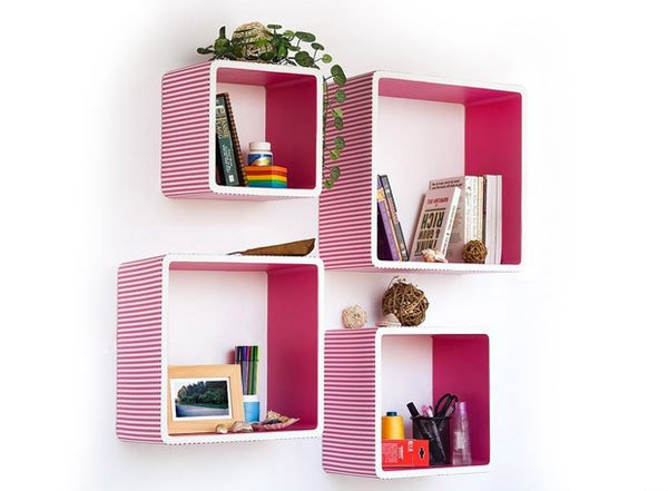 15 Cube and Rectangular Shelving | Home Design Lover
