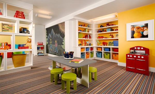 Frisky Playroom Designs
