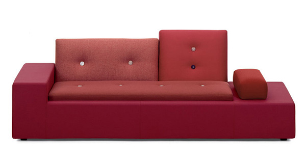 red tones Sofa