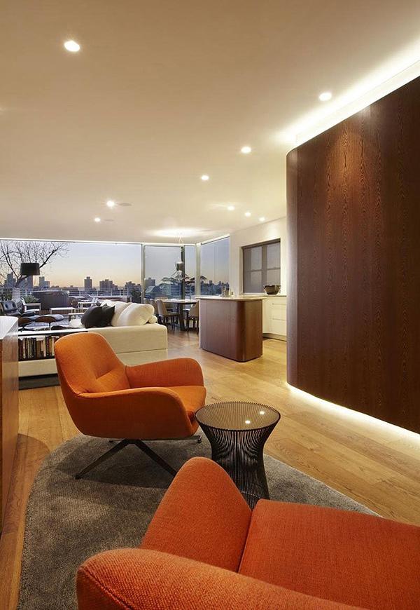 Orange furnitures