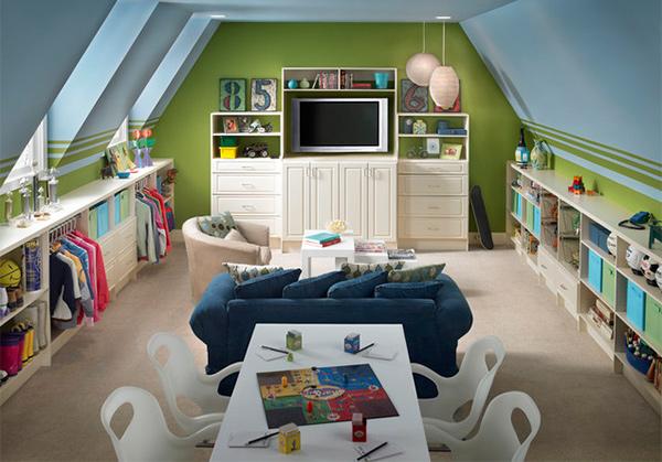 playroom appliances