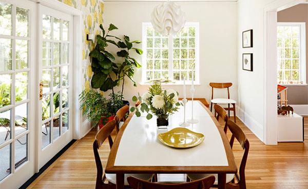 Portland Modern Tudor Dining Room Concept