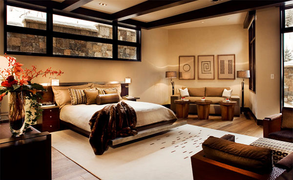 double master bedroom