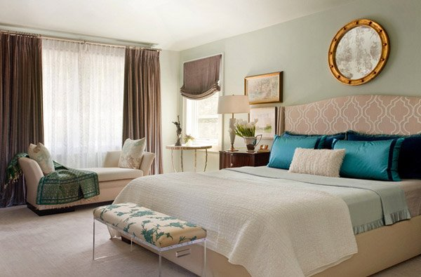 teal master bedroom ideas 15 beautiful brown and teal bedrooms home design lover 17473