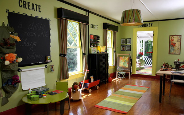 Playroom for kid