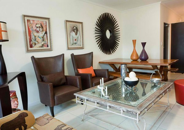 17 awesome african living room decor home design lover for African house decoration