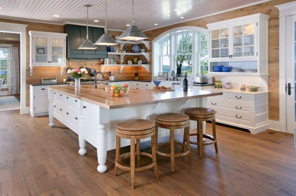 countertop kitchen island