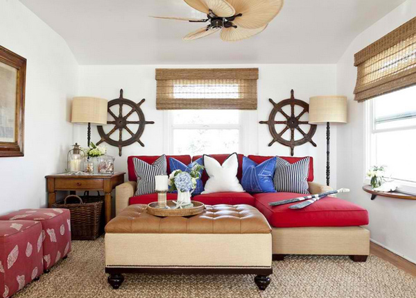 20 unique living room wall decors home design lover for Barclay home design