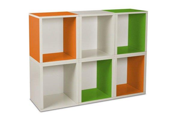 Cube shelf design