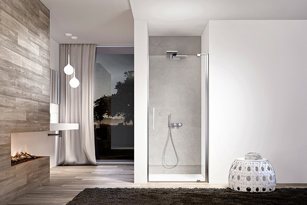 Slim Niche Glass Shower Cabin