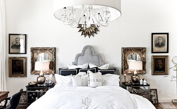 Glam Interior Design 15 modern vintage glamorous bedrooms | home design lover