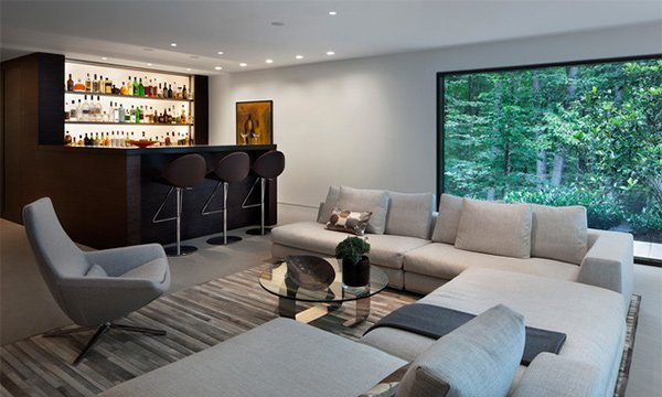 15 Splendid Modern Family Room Designs | Home Design Lover