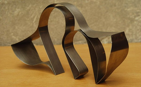 Stainless Table Sculpture