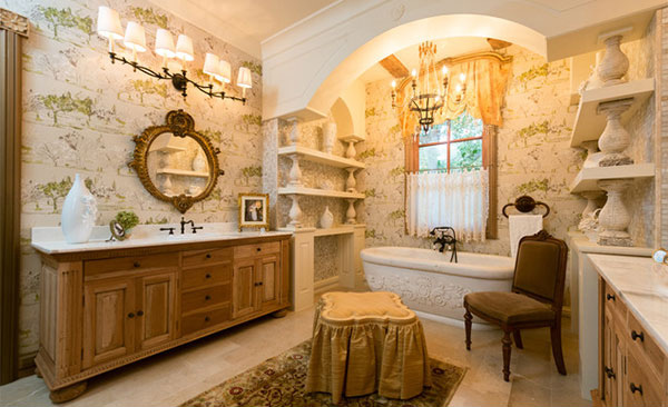 French Provincial Master Bathroom