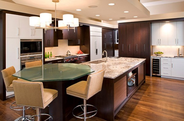 gloss cabinetry kitchen