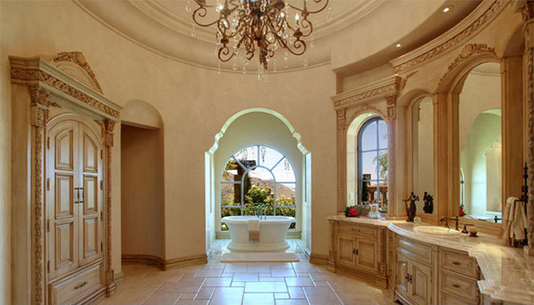 Master Bathroom Hers