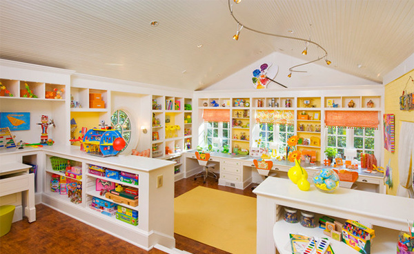 Play Room storage