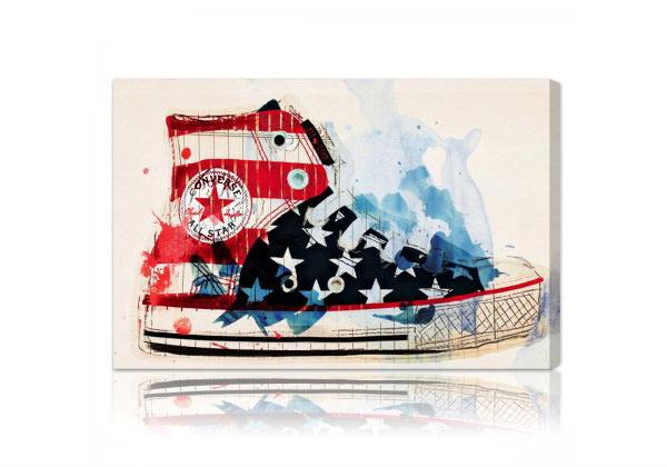 Americas Sneaker Wall