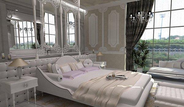 15 Modern Vintage Glamorous Bedrooms Home Design Lover