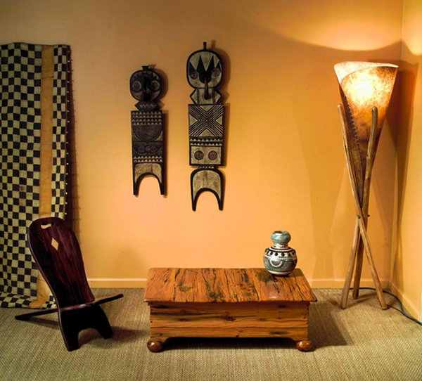 17 awesome african living room decor home design lover. Black Bedroom Furniture Sets. Home Design Ideas