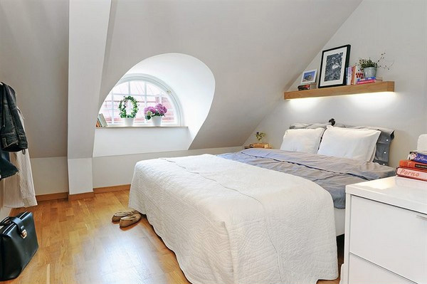 amazing attic bedroom