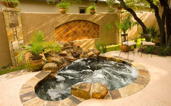 15 Circular And Curvy Hot Tubs Home Design Lover