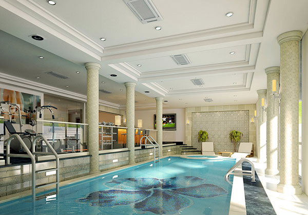 Basement ideas in 15 different home spaces home design lover for Basement swimming pool ideas
