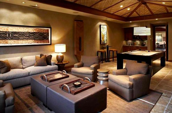 High Quality African Living Room Decor