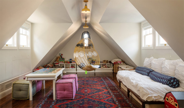 15 Attic Rooms Converted Into Simple Yet Elegant Bedrooms