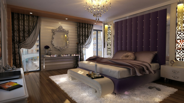15 modern vintage glamorous bedrooms home design lover - Modern Vintage Bedroom Ideas