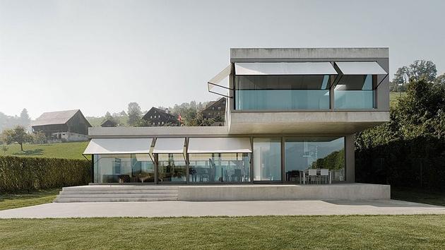 Villa M: A Modern Minimalist House in Switzerland | Home Design Lover