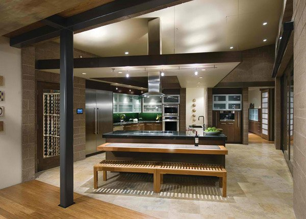 Attirant Big Kitchen Design