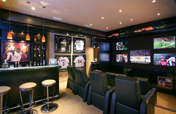 media room bars