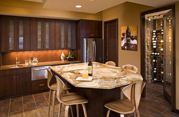 Wet Bar Kitchen