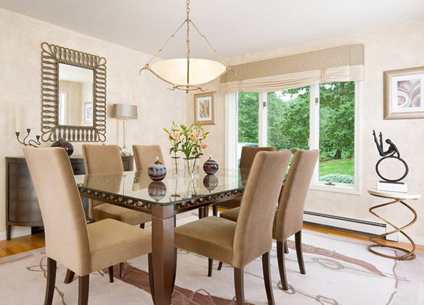Catch Simplicity and Elegance in 15 Transitional Dining ...