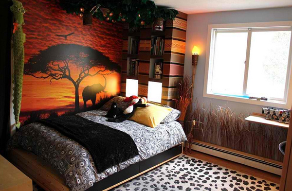 Bedroom Ideas Leopard 15 lovely bedrooms with leopard accents | home design lover