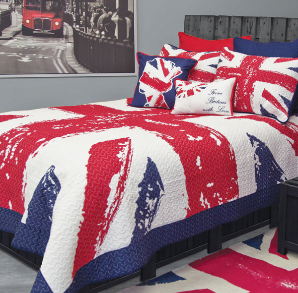 15 comfy boys bedroom sheets home design lover for Union jack bedroom ideas