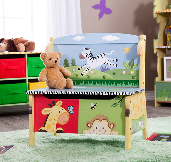 bench toy box