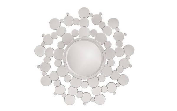 Solar Round Mirror Idea