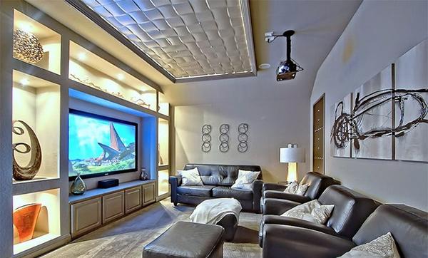woven ceiling decor