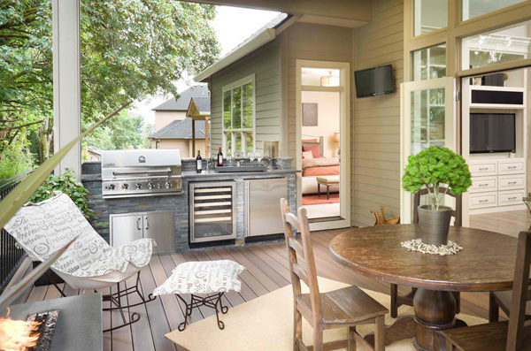 Outdoor Kitchen Designs