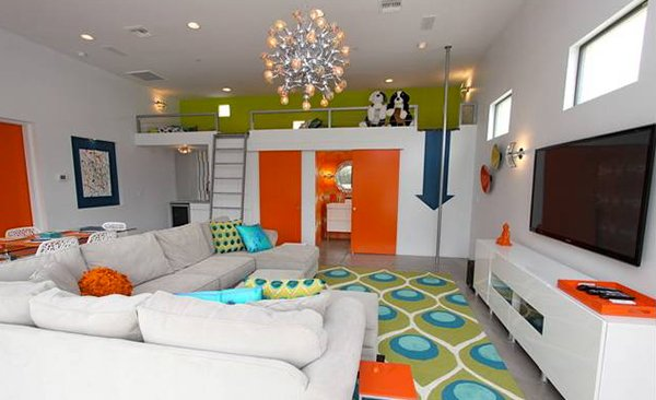 contemporary family rooms chimera interior design