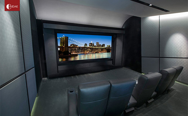 Contemporary Home Theaters