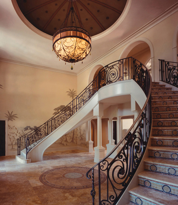 16 ways to light your home 39 s foyer home design lover for High ceiling entryway