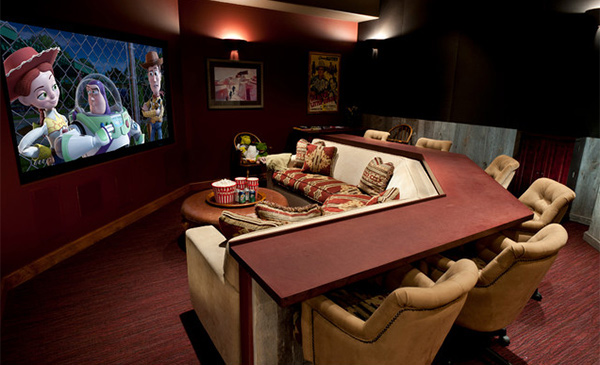 15 Interesting Media Rooms And Theaters With Bars Home Design Lover