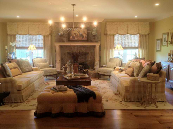 15 homey country cottage decorating ideas for living rooms for Homey living room designs